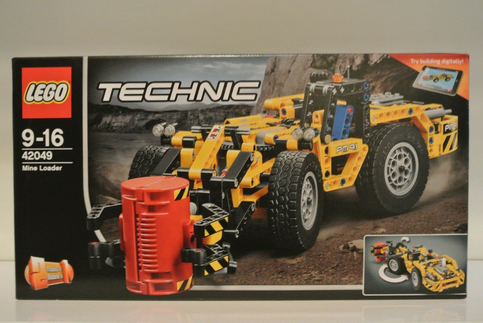 Lego Technic 42049 - Mine Loader - BRAND NEW FACTORY SEALED