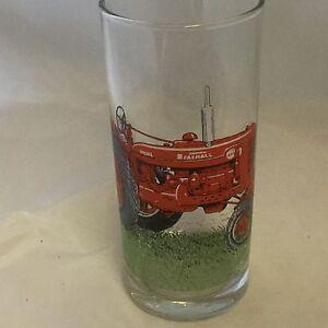 INTERNATIONAL HARVESTER    TRACTOR  HIGHBALL TUMBLER GLASS