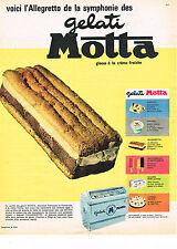 PUBLICITE ADVERTISING 0314   1961   GELATI MOTTA   glaces  voici  l' ALLERETTO