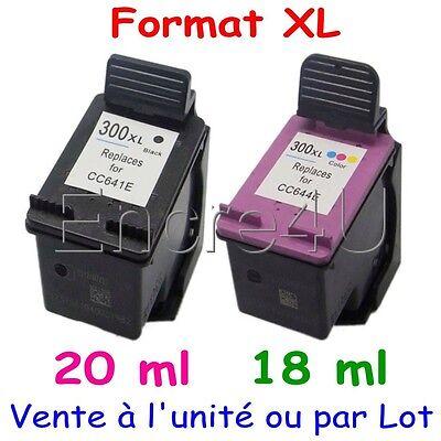 Cartouches d'encre compatibles avec HP DeskJet D2544 D 2544 ( HP 300 XL )