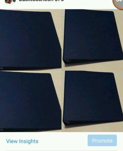 Office or Every day Binders Navy Blue Binders