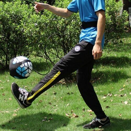 Ballon d/'entraînement football Kick Aide pratique Contrôle Compétence Ceinture