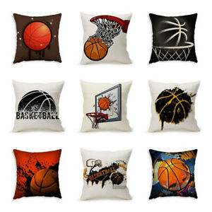 Am-Basketball-Theme-Square-Pillow-Case-Cushion-Cover-Sofa-Bed-Car-cafe-Office-D