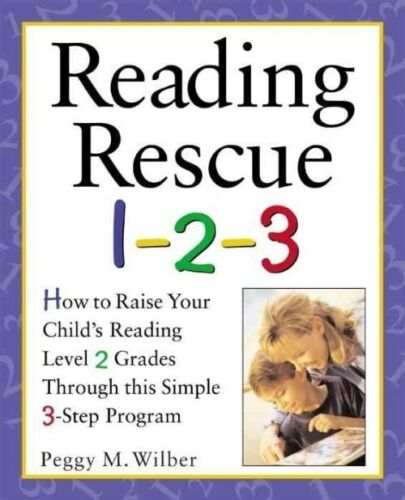 1 of 1 - Reading Rescue 1-2-3 : Raise Your Child's Reading Level 2 Grades with-ExLibrary