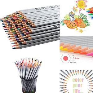 Color Marco Raffine Art Drawing Pencil Oil Base Non-Toxic Sketch Set 24/36/48/72