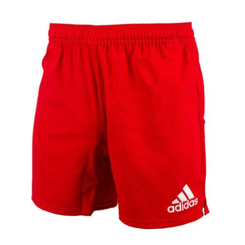 Adidas Youth 3S Rugby Shorts Training Red Black Navy White Kids Childrens Boys