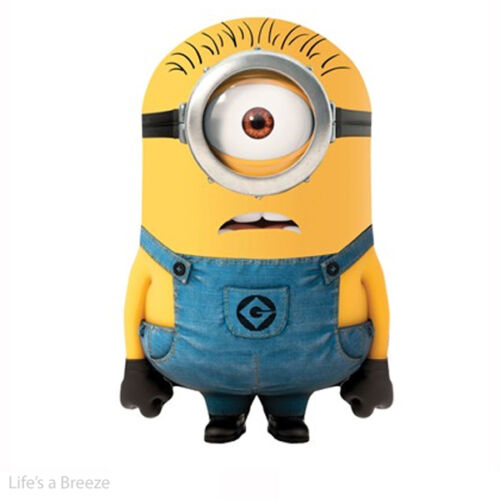 Despicable Me Minion Kites. Karl. With handle And Kite Line. Licensed  Kite
