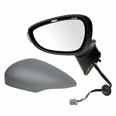 Ford Fiesta Mk7 2008-2012 Electric Wing Door Mirror Primed Passenger Side N/S