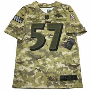 NWT CJ Mosley Baltimore Ravens Jersey S Salute to Service Camo ...