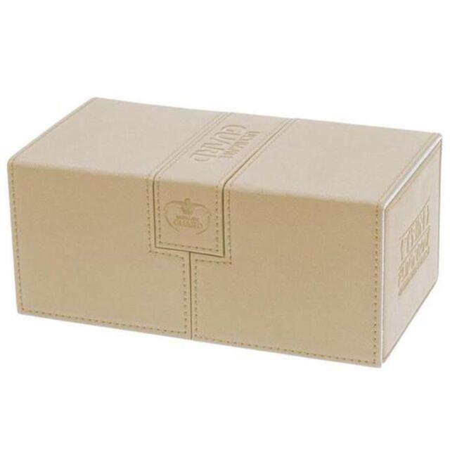 Deck Box Ultimate Guard Twin Flip n Tray 200+ Standard Size XENOSKIN Sand
