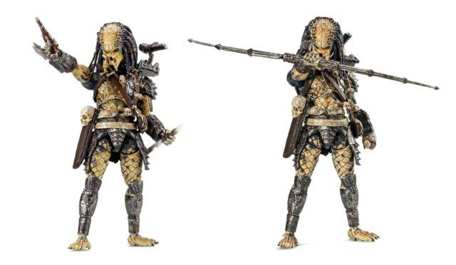 Elder 1:18 Scale 4 Inch Acton Figure Hiya Toys Predator 2