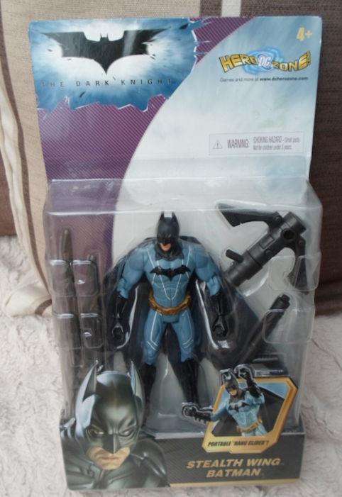 DC DIRECT Stealth Wing  DARK KNIGHT FIGURE Batman movie