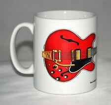 Guitar Mug. Noel Gallagher's 1960's Gibson ES-355 illustration.
