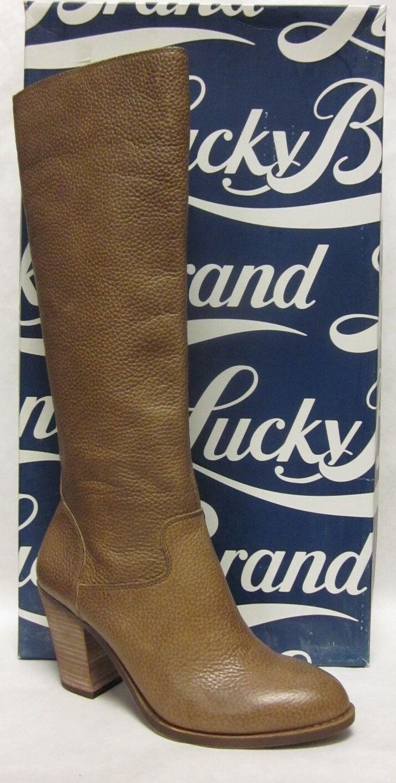 Lucky Brand Espositoh Honey Cornelian Knee High Boot - size 10