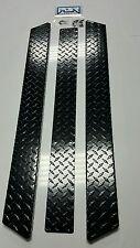 YAMAHA GOLF CART BLACK DIAMOND PLATE ROCKERS G14 G16 G22  Rocker panels and kick