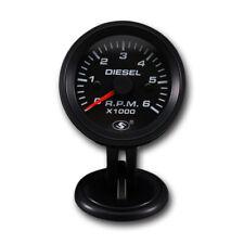 52 Mm Universal Tachometer On Dash For Diesel Engine 6000 Rpm For Alternator