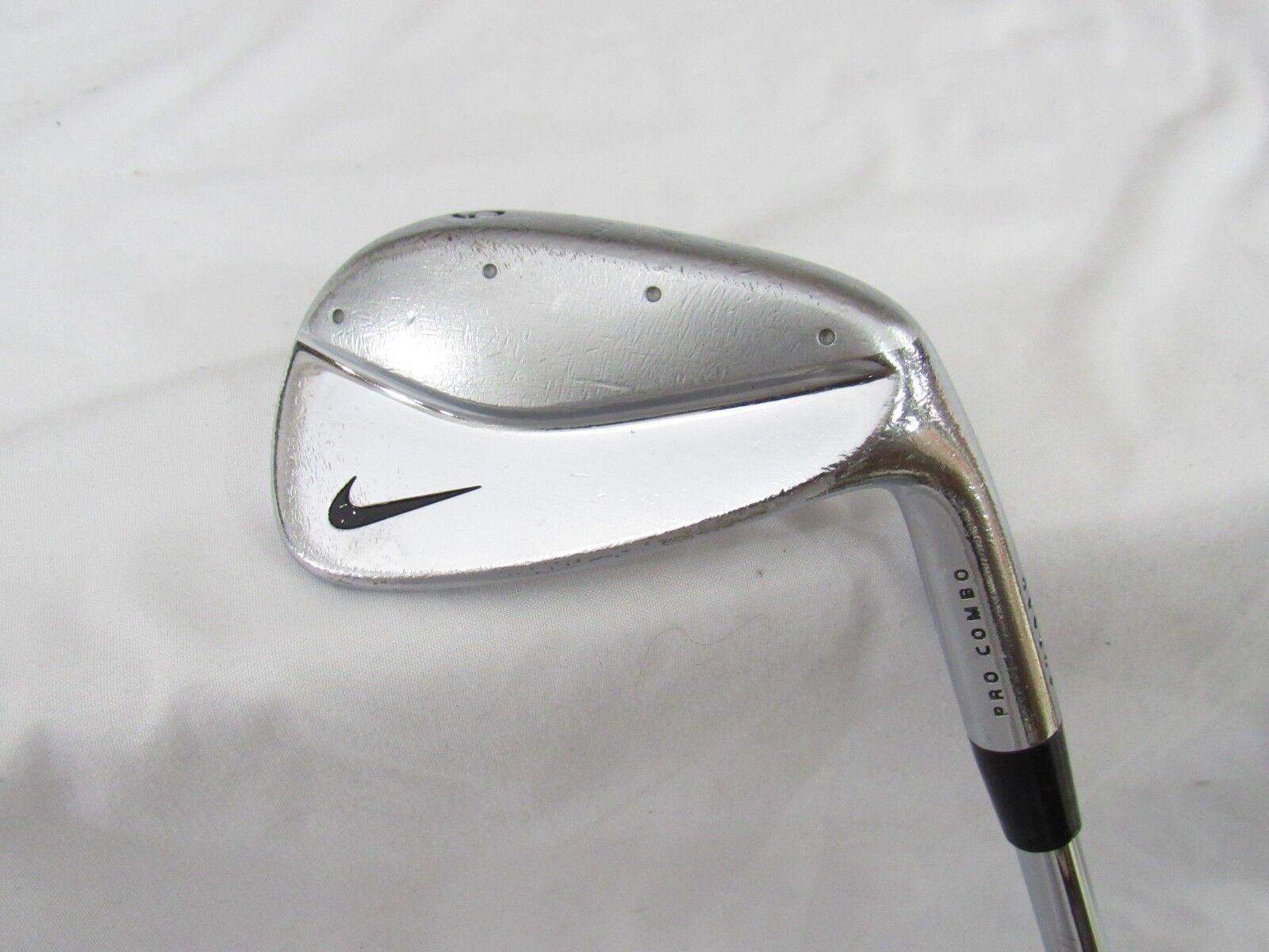 Nike Pro Combo De Hierro Forjado solo 9-Proyecto X 5.5 firme Flex acero utilizado mano derecha