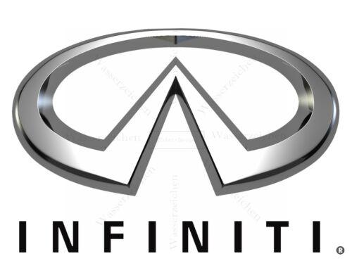 10cm Aufkleber Decal UV/&WASCHANLAGENFEST kratzfest Infiniti Auto-Logo AC039