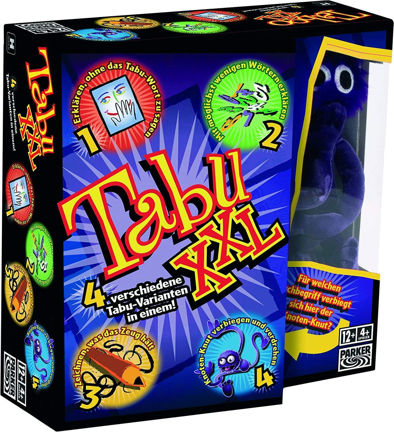 Hasbro games tabu xxl - party - spiel - deutsche version