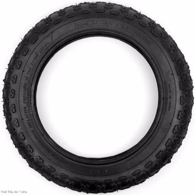 1 BICYCLE TIRE 12-1//2 X 2-1//4 RED Comp 3 Design DURO JOGGER BMX  Bike Scooter