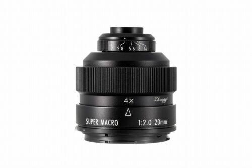 Zhongyi Mitakon Creator 20mm f//2 Canon EF Super macro lupenobjektiv nuevo embalaje original Top