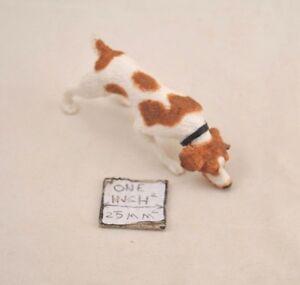 Echelle 1//12 Chien et Maison Miniatures Dollhouse Garden Decoration