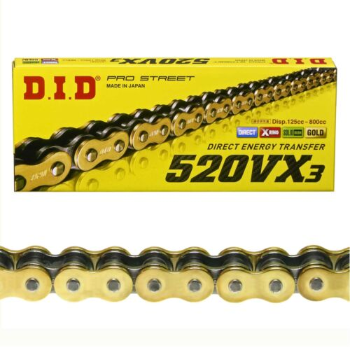 2KF 87-90 EXTRA verstärkt endlos DID SILENT Kettensatz GOLD Yamaha XT 600 33kW