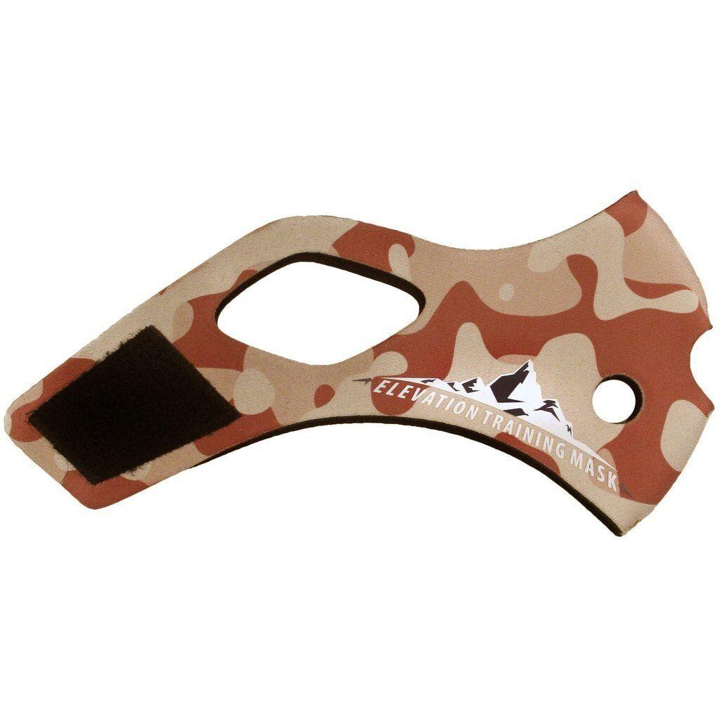 Altitudine Training Mask 2.0 Desert uomoica Mimetica Sostituibili Cover