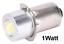 Porter Bosch Ridgid Skil LED Replace Bulb Variable 10V 18V  P13.5S  1W  5W 14V