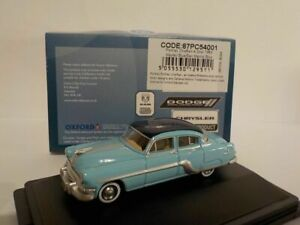 Model-Car-Pontiac-Chieftan-1954-blue-1-87-New-Oxford-87PC54001