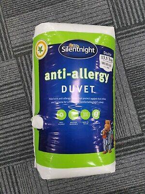 Silentnight Anti Allergy Anti Bac Duvet Quilt 13.5 Tog Single Double King