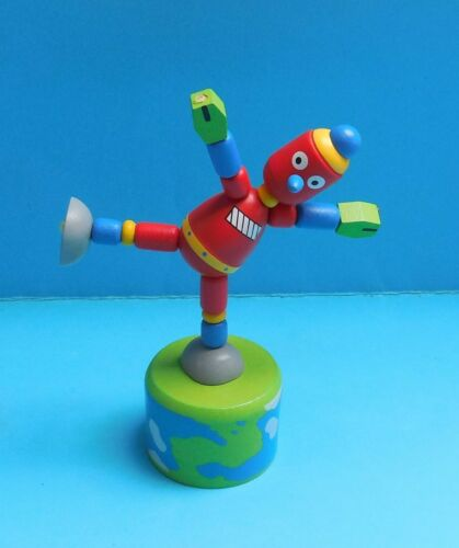 Natale Calza Filler-PUSH UP STAMPA Pupazzo Toy-Fata Robot Spaceman