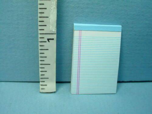 Miniature Legal  Ruled Tablet White #56102w  Hudson River