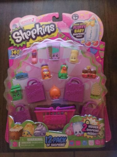 Shopkins Season 2 12 PACK Special Edition Exact Fluffy Baby Yellow Baby Swipes