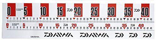 Daiwa Japan Fishing Measure Scale Ruler Sticker CP Red 44cm 925907