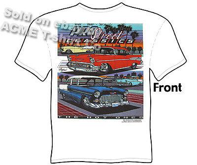 55 56 57 Chevy T Shirts Truck Tee Shirt 1955 1956 1957 Chevrolet Pickup Clothing