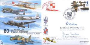 CC57c-RAF-signed-cover-Polish-Air-Force-flown-cover-signed-Lord-Barber-WWII-POW