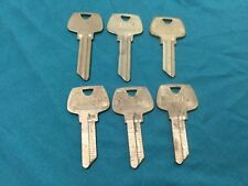Sargent Original La Lf Lg Key Blanks Set Of 6 Locksmith