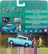 "Corgi Toys 1:43 Harry Potter & MR WEASLEY'S FORD ANGLIA"" Movie Car Set MIB RARE!"