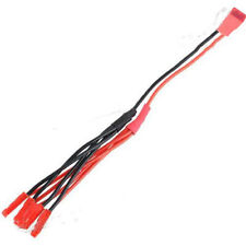 JST Plug Connector 1 Female to 4 Male LED ESC Power Cable for RC FPV Quadcopter