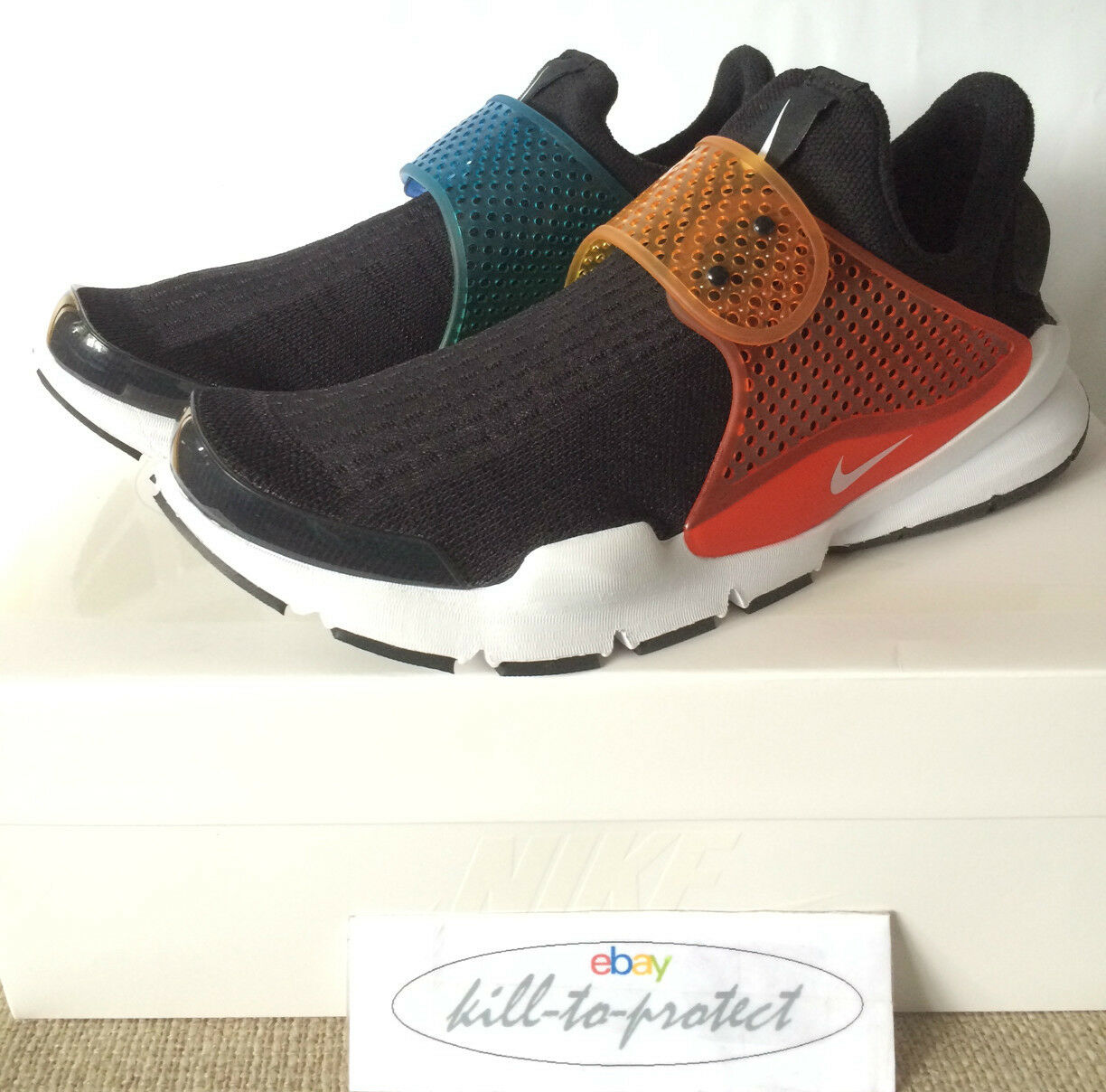 NIKE SOCK DART BE TRUE 11 SzUS 8 9 10 11 TRUE SP RAINBOW 686058-019 Fragment 2015 7c3794