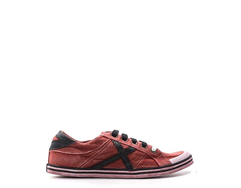 shoes MUNICH Femme red red red Tissu 825067-67 7e4efd