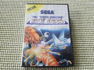 R-Type-Authentic-Sega-Master-Case-Box-Only