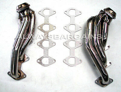 Manzo Stainless Steel Headers Fits Ford Mustang GT 05 06 07 08 4.6L V8 TP-172