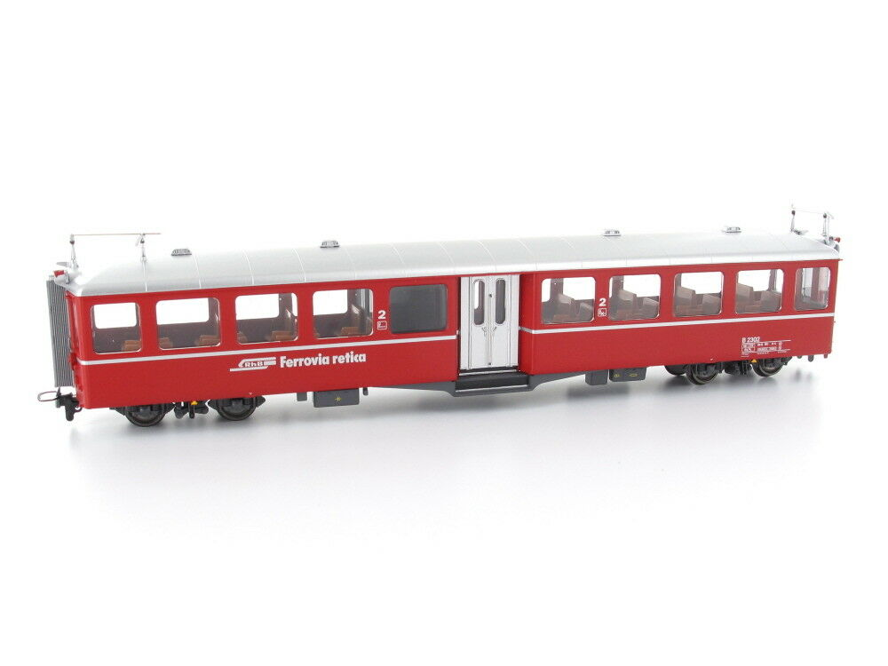 BEMO 3245122 vagoni B 2302 stanziamenti entry-level carrello RHB h0m