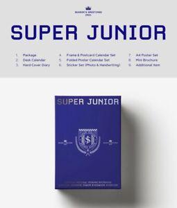Super-Junior-2021-Temporadas-Saludos-Sellado-Kpop-tarjetas-AUS-de-seguimiento-Preventa