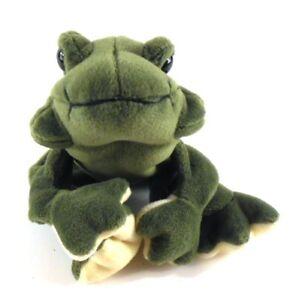 Tremendous The Bearington Collection Bean Bag Frog Plush Stuffed Animal Frankydiablos Diy Chair Ideas Frankydiabloscom