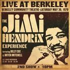 Live At Berkeley von Jimi Hendrix (2012)