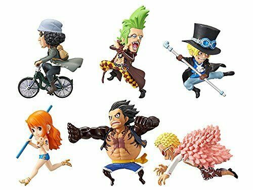 One Piece World Collectable Figure History Relay 20Th Vol.5 All Six Kzan Bartf S
