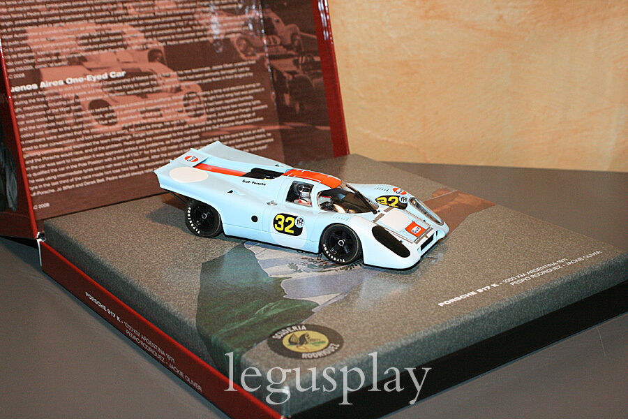 Slot car car car SCX Scalextric Fly 99113 Porsche 917 K - 1000 km Argetina 1971  tienda en linea
